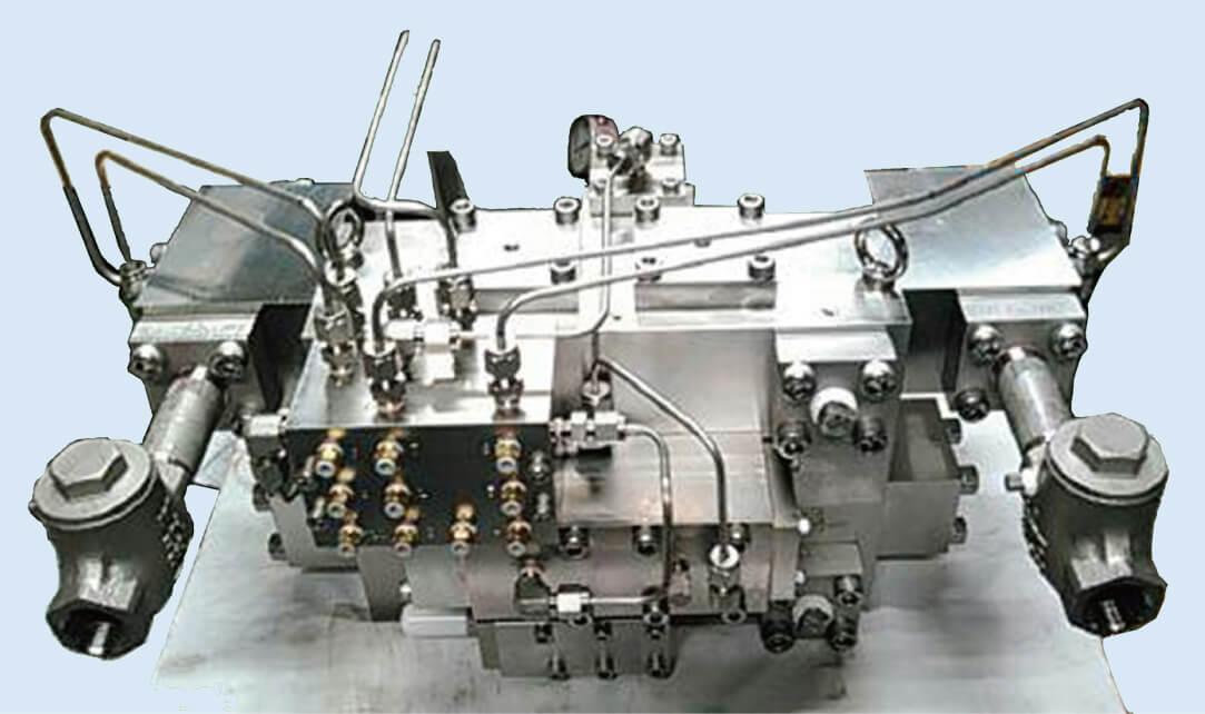 2流路式 油圧延用ミキサー(熱間圧延向け)
