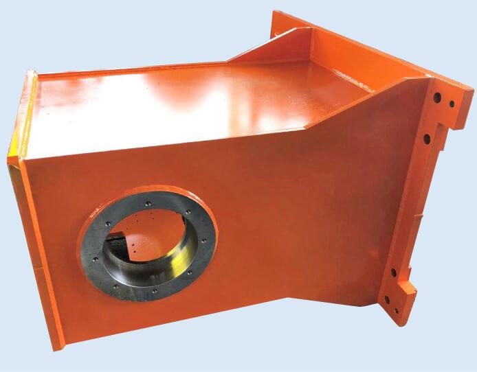 タイヤ製造ライン軸受け部品(機械工済)